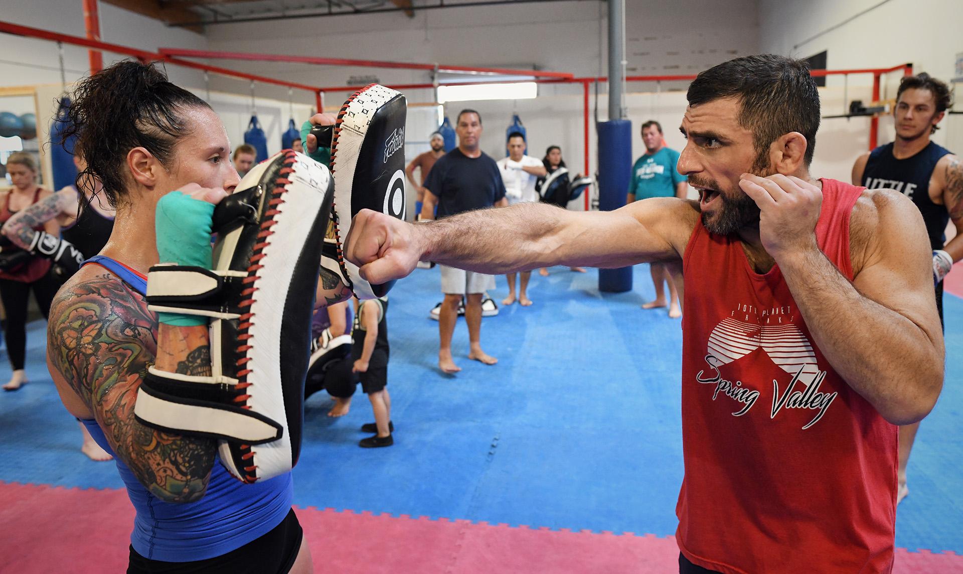 San Diego Combat Academy - Tiger Smalls Boxing